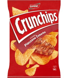 Lorenz Crunchips Pieczone Żeberka 140g.