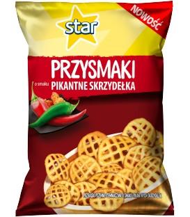 Star Przysmaki Pikantne Skrzydełka 80g.