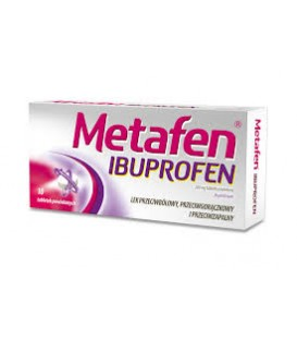Metafen Ibuprofen 10 tabletek 200mg