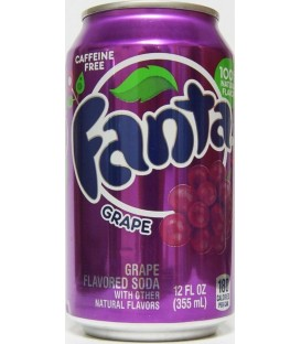 Fanta Grape puszka 355ml