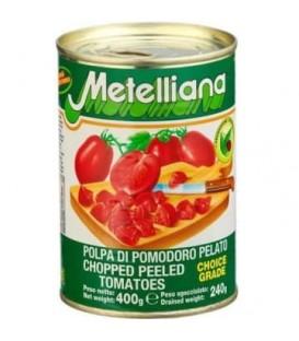 Metelliana pomidor kostka 400g
