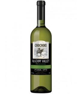 Wino Chochory alazany valley 0,75L 11%