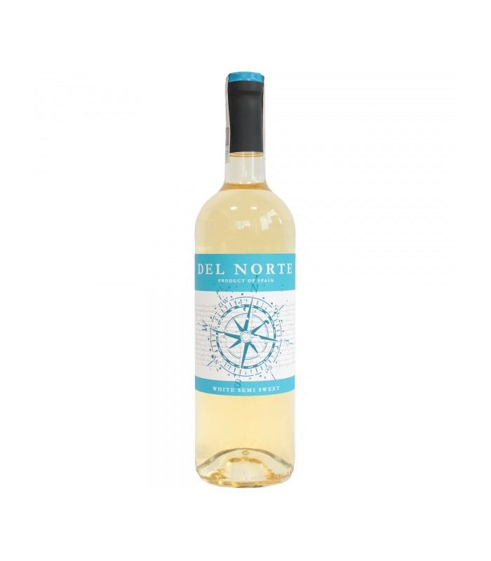 Del Norte Wino Białe Półsłodkie 075l Apimarketpl Zakupy