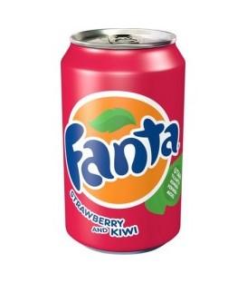 Fanta strawberry+kiwi 330ml