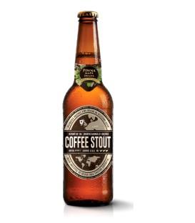 Coffee stout piwna mapa świata 0,5L