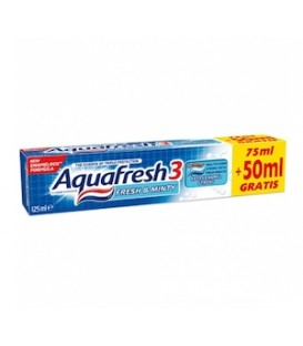 Aquafresh100+25 Fresh&Minty pasta