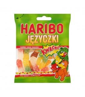 Haribo Kwaśne Języczki 100g