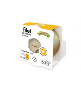Agrico Filet z kurczaka w oleju 160g