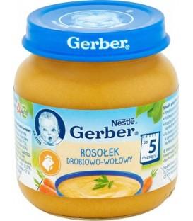 Gerber zupa rosół drobowo/wołowy 130g