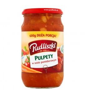 Pudliszki Pulpety w sosie pomidorowym 600g