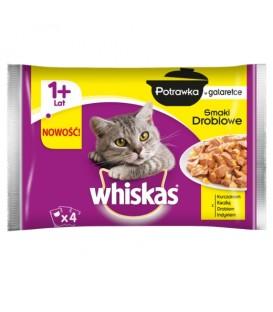 Whiskas Drob.Potrawka galaretka 4x85g