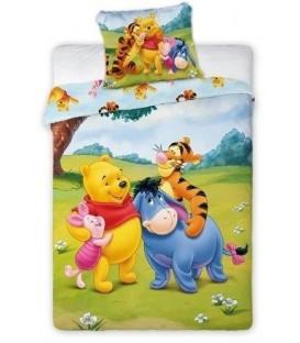Pościel dziecięca bawełna100x135+40x60 Kubuś