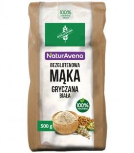 Mąka gryczana biała bezglutenowa 500g