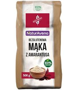 Mąka z amarantusa bezglutenowa 500g
