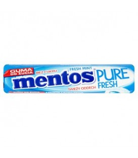 Mentos pure fresh mint roll 15,5g