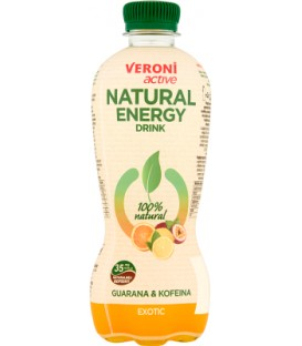 Veroni active natural energy drink exotic 0,4L