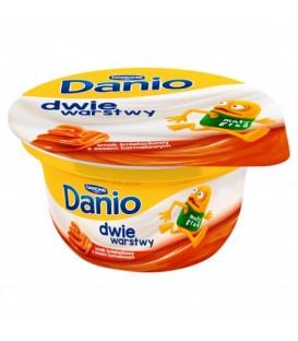 Danone Danio Dwie Warstwy Karmelu 120g