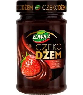 Łowicz Czekodżem Truskawka 250g.