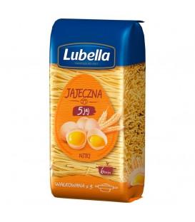Lubella Makaron Nitki 5-Jajeczny 250g.