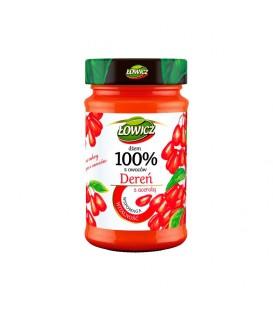 Łowicz Dżem Dereń 100%z owoców 235g.