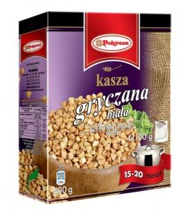 Polgreen Kasza Gryczana Biała 4x100g.