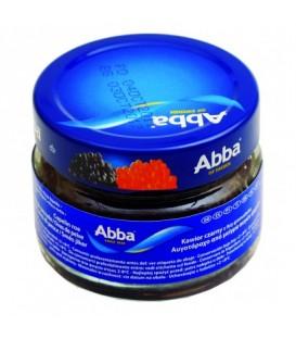 Abba kawior capelin czarny 80g