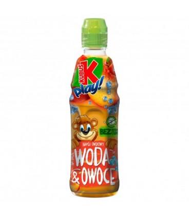 Kubuś Play Woda&Owoce 0,4l.jabłko-brzoskwinia