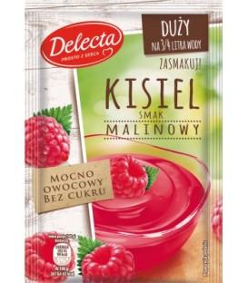 Delecta kisiel malinowy owocowy 60g