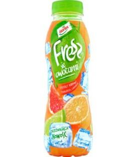 Fresz Grejpfrut Ru/Pomarańcz/Limonka 0,4L.pet