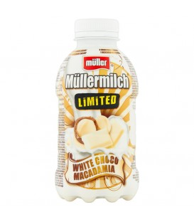 Muller Milk Biała Czekolada/Macadamia 400ml