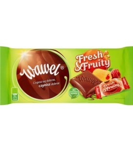 Wawel Tabliczka Fresh&Fruity 100g