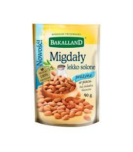 Bakalland Migdał lekko solony 90g