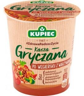 Kupiec Kasza gryczana po węgiersku z warzywami 70g