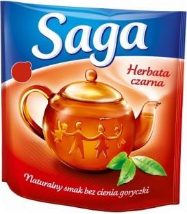 Saga Herbata czarna 40tb expresowa
