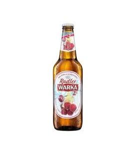 Warka Radler Malina-Cytryna 0,5L.butelka