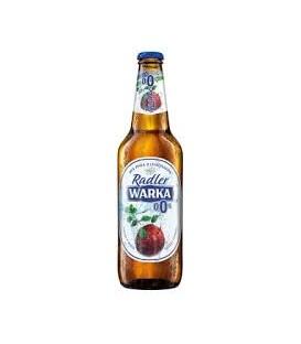 Warka Radler Jabłko-Mięta 0% 0,5L.Butelka