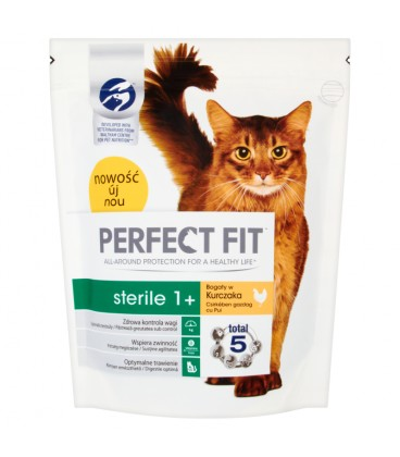 Perfect Fit Sterile 1+ Bogaty w Kur.750g