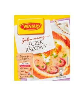 Nestle Jak U Mamy Żurek Razowy 33g.