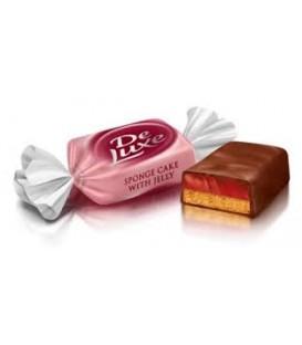 Roshen De Luxe sponge cake with jelly cukierki kg