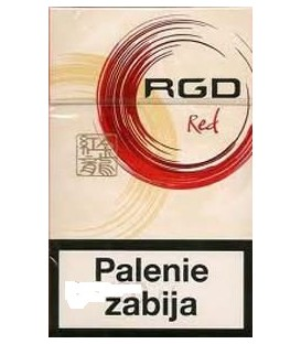RGD Red KS BOX papierosy