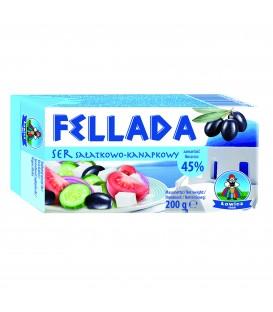 Łowicz Fellada 45% sałatkowo-kanapkowy 200g.