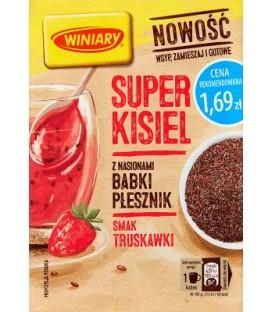 Winiary Kisiel truskawkowy z babką płesznik 27g
