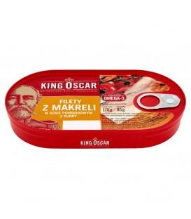 King Oscar filet śledź w sosie pom. z curry 170g