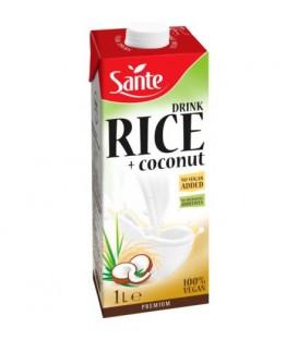 Sante Napój Ryżowo-Kokosowy bez dodatku cukru 1l.