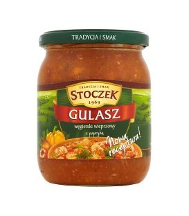 Stoczek gulasz węgierski wieprzowy 500g danie got.