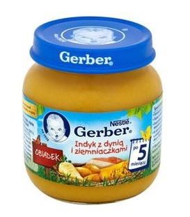 Gerber Zupa jarzynka z królikiem 130g