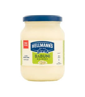 Hellmann`s majonez babuni 310ml