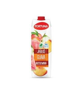 Fortuna Napój Jabłko-Guava-Brzoskwinia 1l.