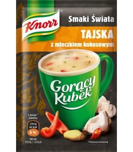 Knorr Gorący Kubek tajska z mleczkiem kokosowy 15g