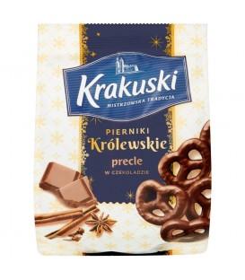 Bahlsen Pierniki Królewskie precle w czekol. 150g